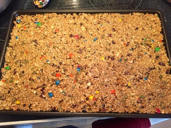 Granola Bars Pre-Baking